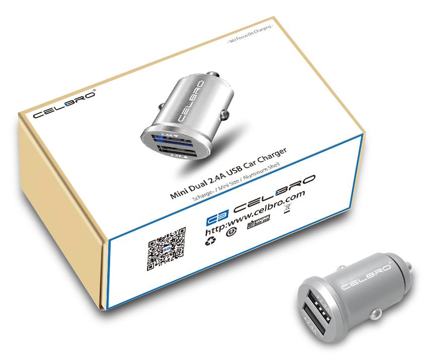 Celbro 12 / 24V USB-laturi 5V 2,4A | 00050-00-00