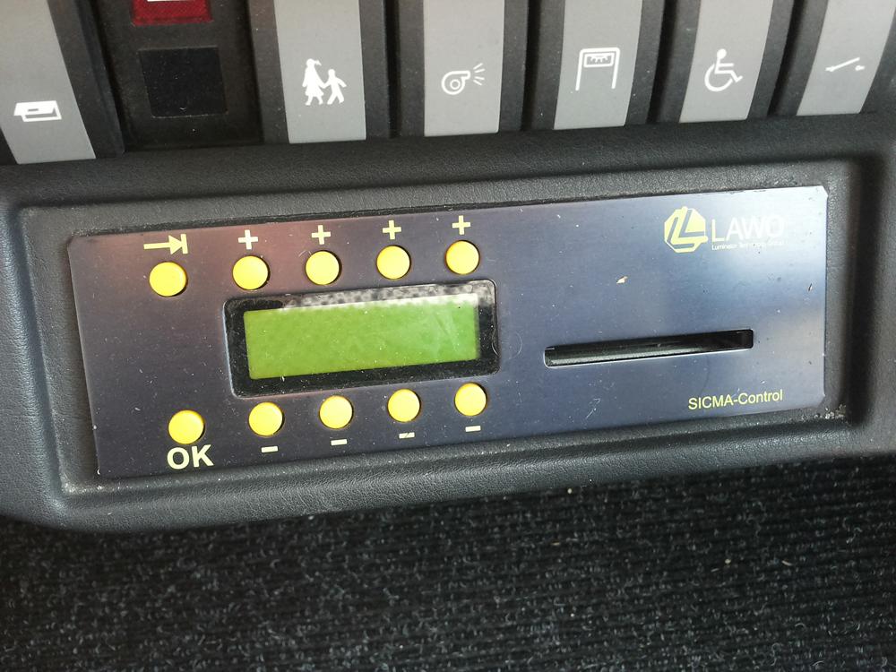 LAWO Sicma kontrolieris konfigurācija | 00033-00-00