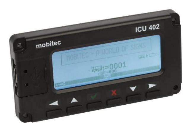 Mobitec MobiMASTER ICU402 controller unit   00027-00-00