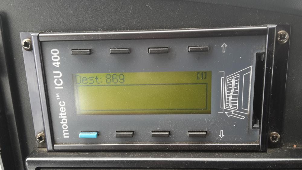 Mobitec ICU 400 SMC kontrolieris konfigurācija serviss | 00034-00-00