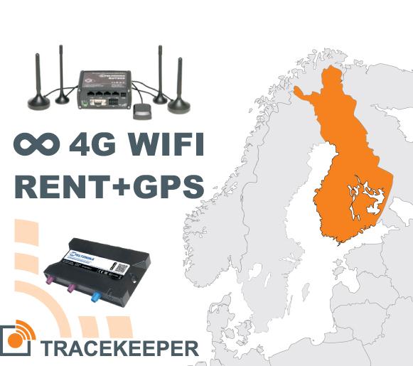 Ruuteri rent koos Soome piiramatu 4G andmeside ja GPS jälgimisega | 00052-00-00