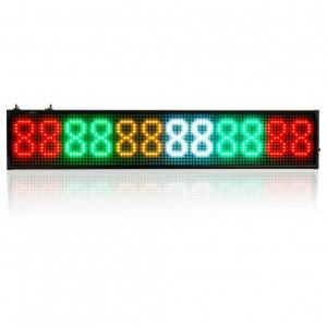 P5 SMD 96x500mm (16x96) multicolor mobile controlled LED sign | 00051-00-00